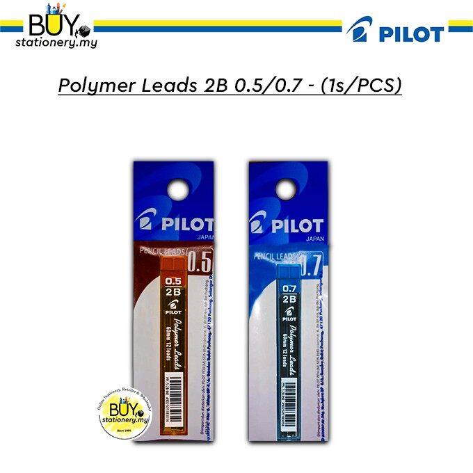 Pilot Polymer Leads 2B 0.5/.0.7 - (PCS)