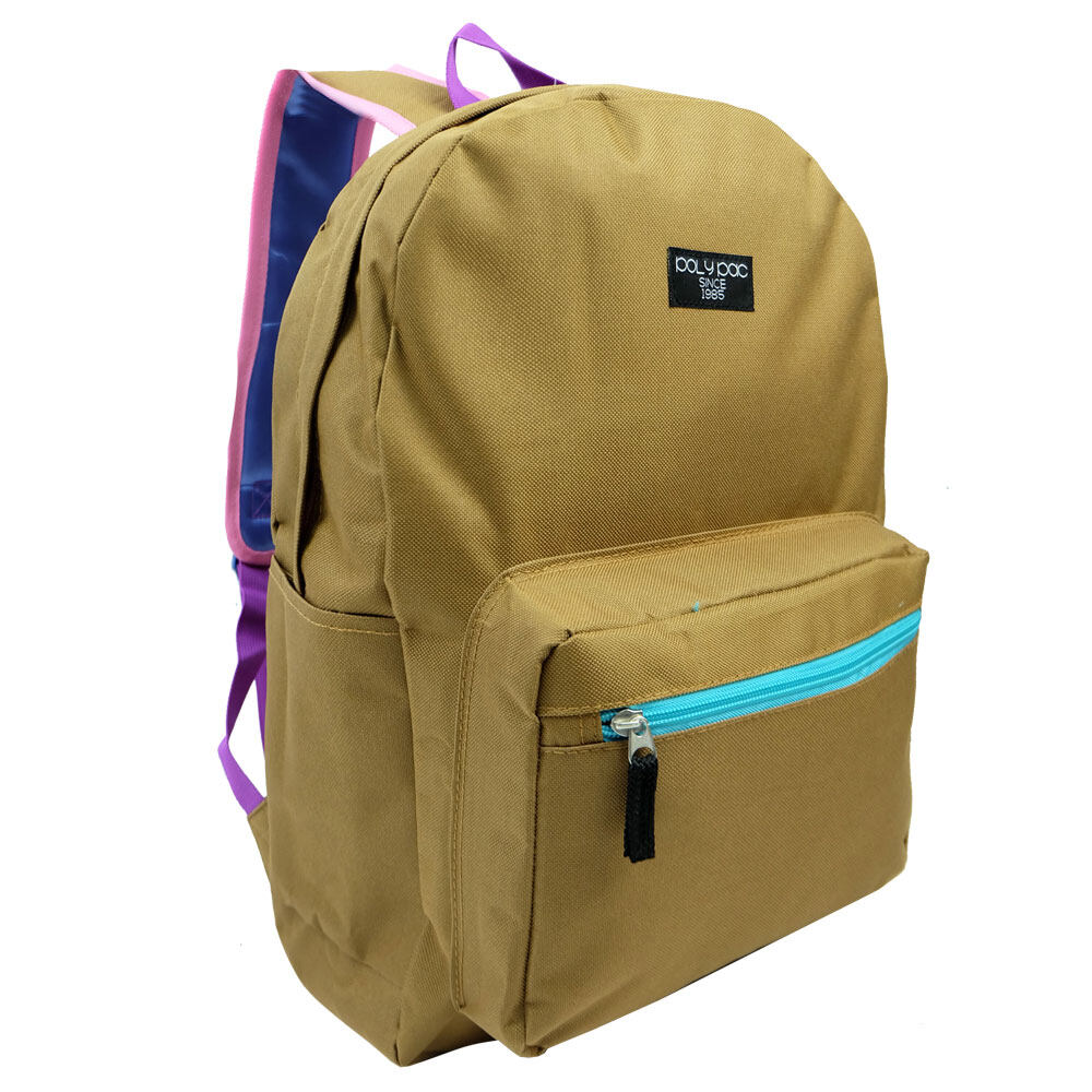 Poly-Pac PB1919 17inch Korean Style Galaxy Canvas Backpack School bag