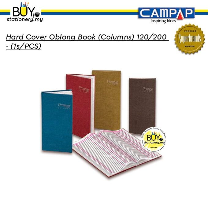 Campap Cover Oblong Book (Columns) 120/200 - (1s/PCS)