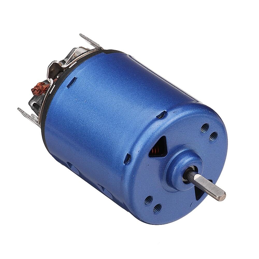 DIY Tools - DC Motor 7.2V 20000rpm Permanent Magnet Motor Carbon Brush Ball Bearing Motor - Home Improvement