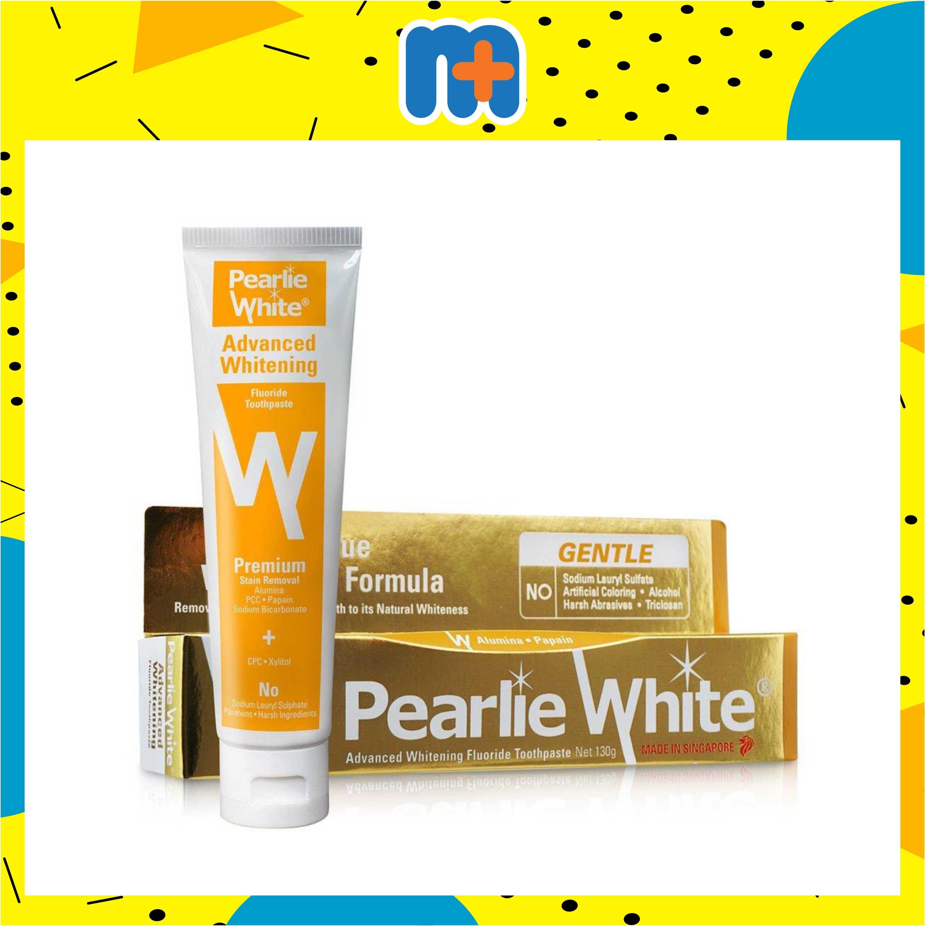 [MPLUS] PEARLIE WHITE WHITENING FLUORIDE TOOTHPASTE 130G