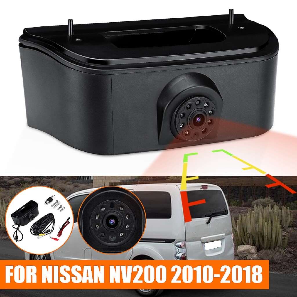 Engine Parts - 3rd Brake Light Rear View Reversing Camera Night Vision For Nissan NV200 2010-18 - Car Replacement