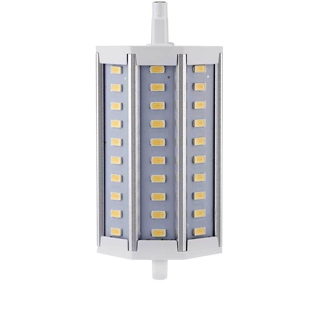 R7S 12W 85-265V LED 30 5730 SMD Lamp Energy Saving Flood Ligh Bulb Lamp Warm White