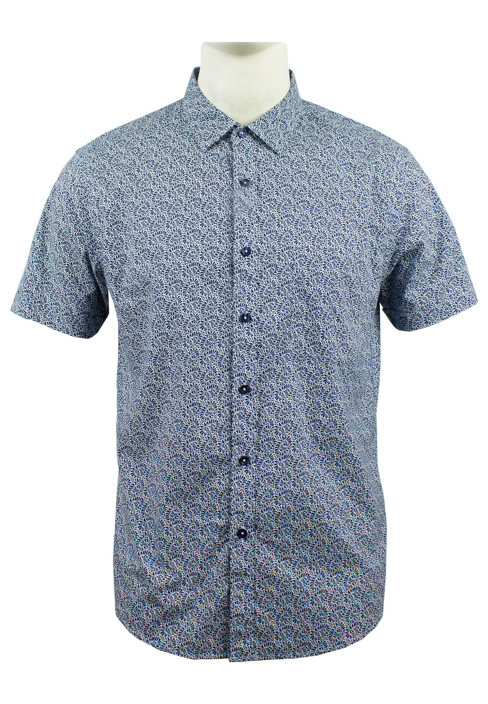 Men's Printed Short Sleeve Shirt 882