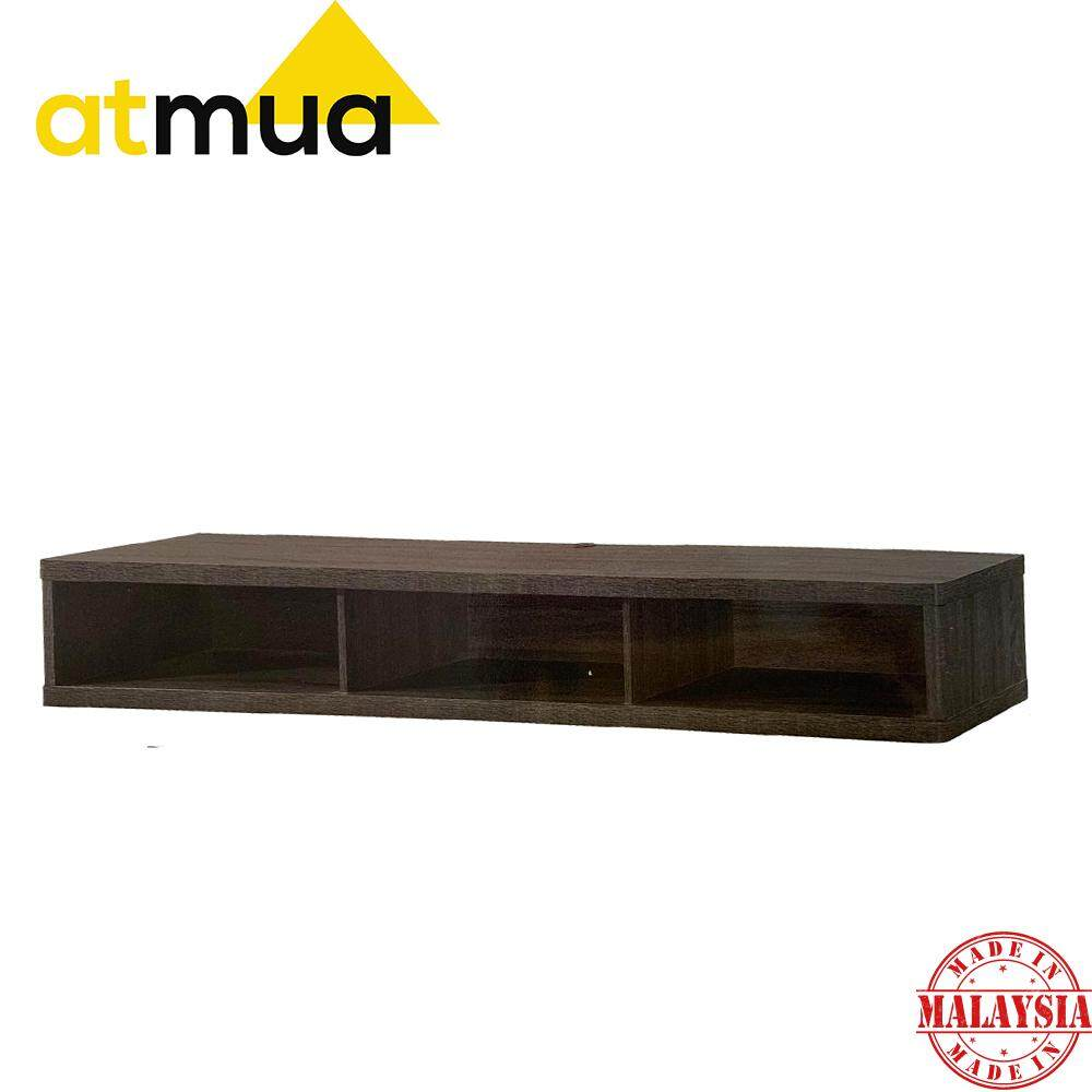 Atmua Tape Hanging Storage Box Hanging TV Cabinet Wall TV Cabinet Wall Storage Cabinet ( 6 Feet ) [Plywood] *Hanging on Wall