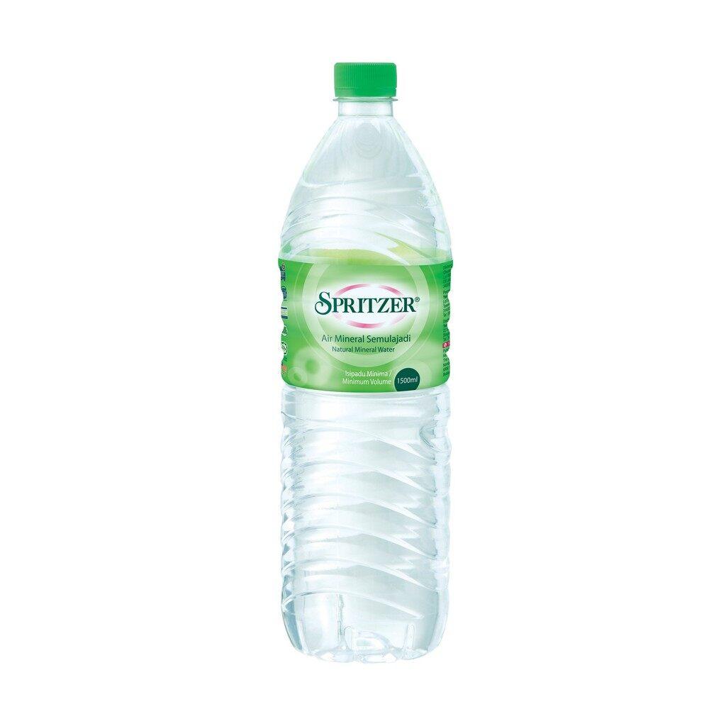 SPRITZER NATURAL MINERAL WATER 1.5 LITER
