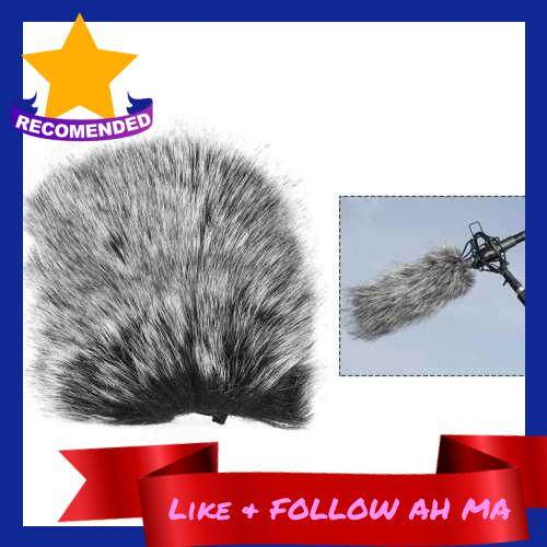 Best Selling Small Size Outdoor Microphone Mic Furry Windscreen Windshield Cover Muff for SHENGGU SG-107/ SG109 or other 6 * 5cm / 2.4 * 2in (L * D) Compact Microphones (Standard)