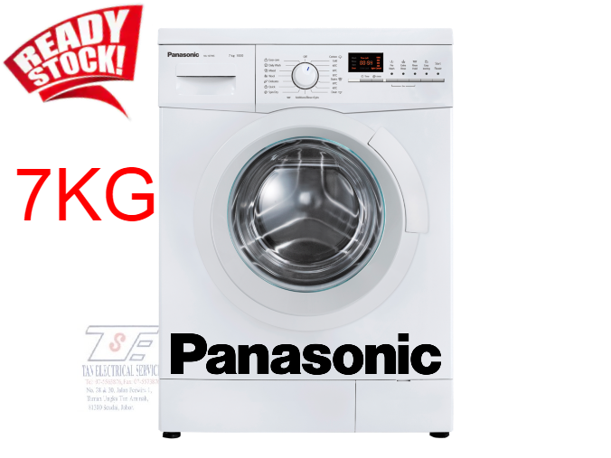 PANASONIC FRONT LOAD WASHER 7KG NA-107VK5WMY