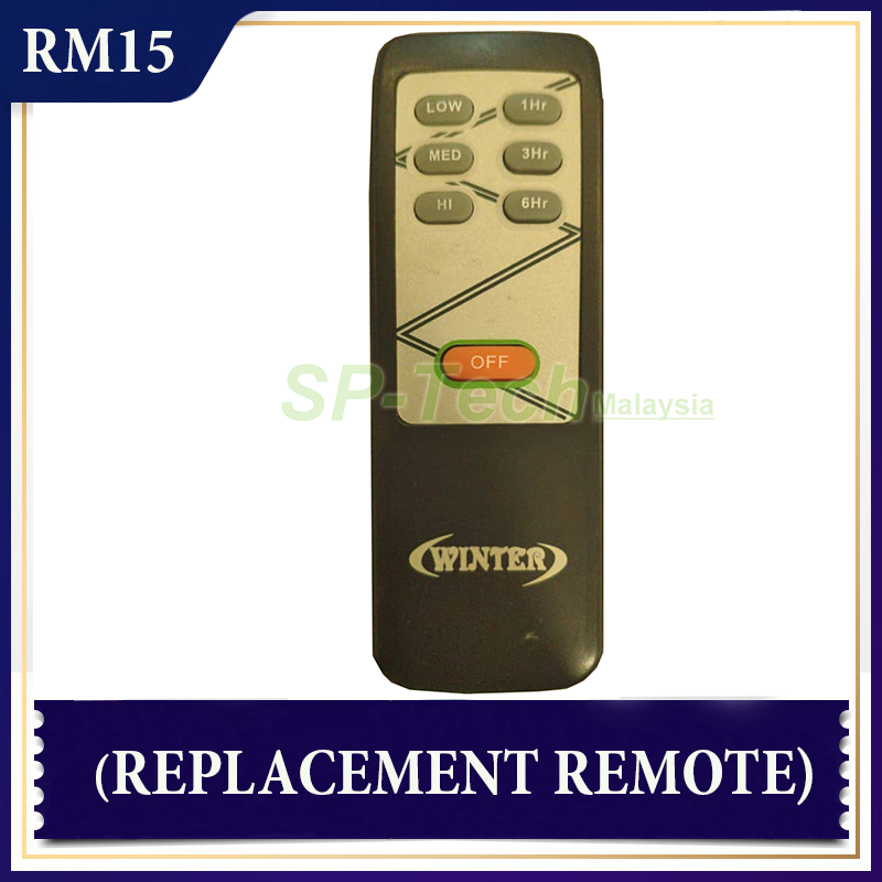 WINTER GCM-923 FAN REMOTE CONTROL (REPLACEMENT)