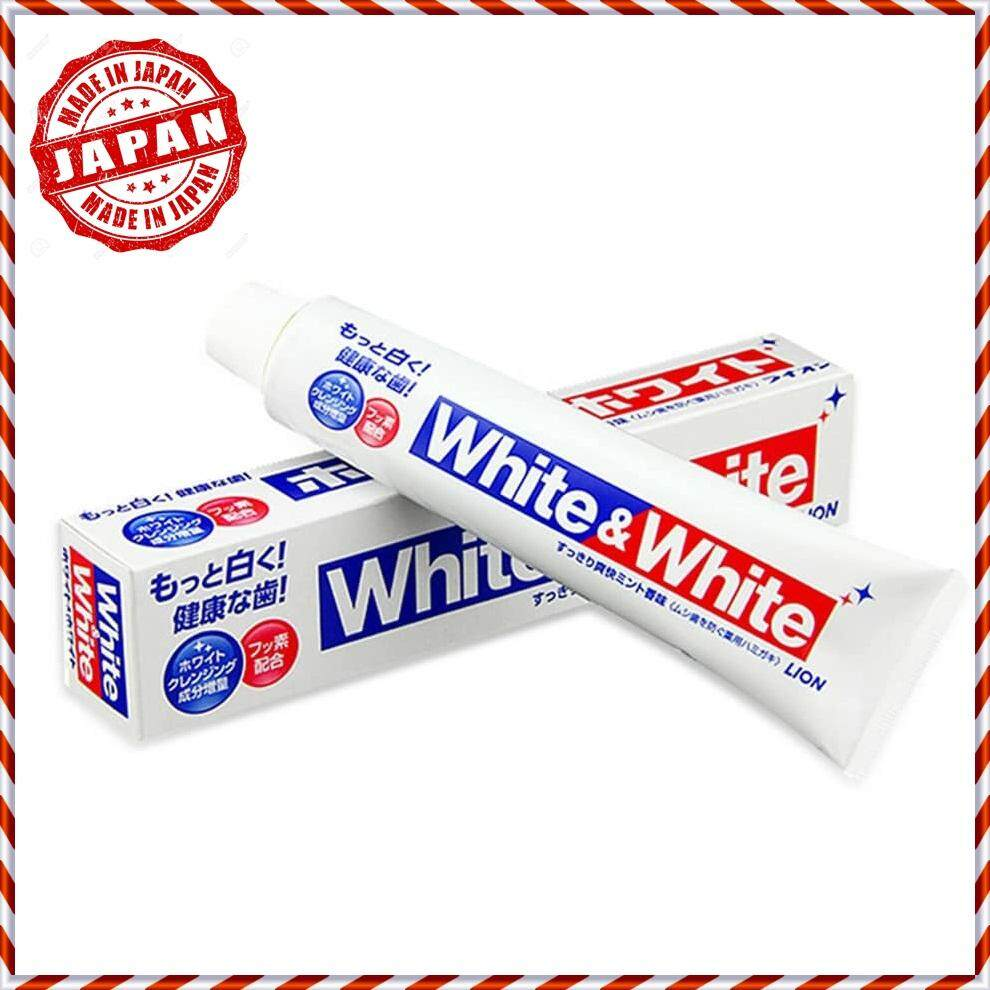 100% JAPAN AUTHENTIC150g LION White & White Toothpaste (Clean Fresh Mint)  LION  J904809M