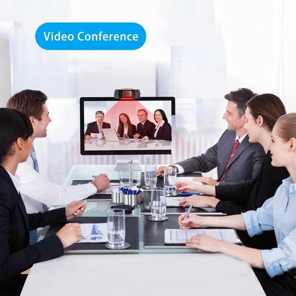 Best Selling C3 Webcam 720P High Definition USB Web Cam Computer Camera Video with Microphone for Live Streaming Online Studying Meeting Calling (Standard)