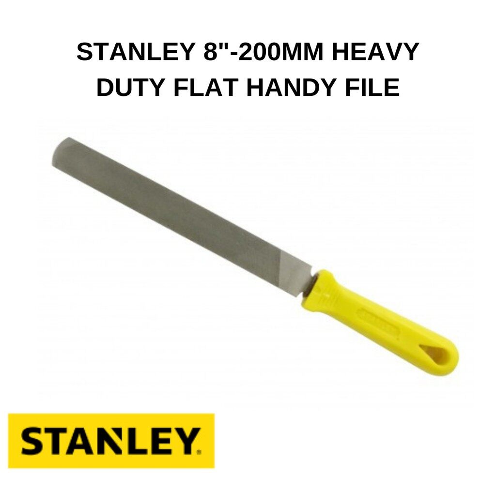 Stanley Handy File C/W Handle 22-078H