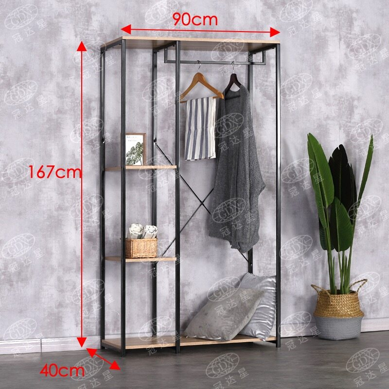 FELIX METAL FRAME LARGE GARMENT RACK YG9017A