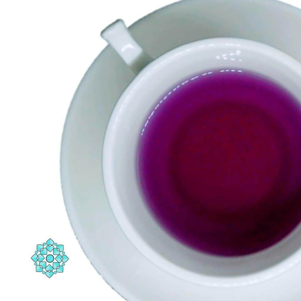 READY STOCK !! Natural Colorful Uncang Tea - Violet Telang (Lavender Tea) Souvenir