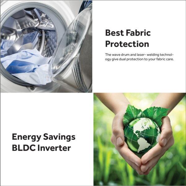 Haier (7kg/10kg) Front Load Inverter Washing Machine HWM100-FD10829/HWM70-FD10829 - 5star energy rating