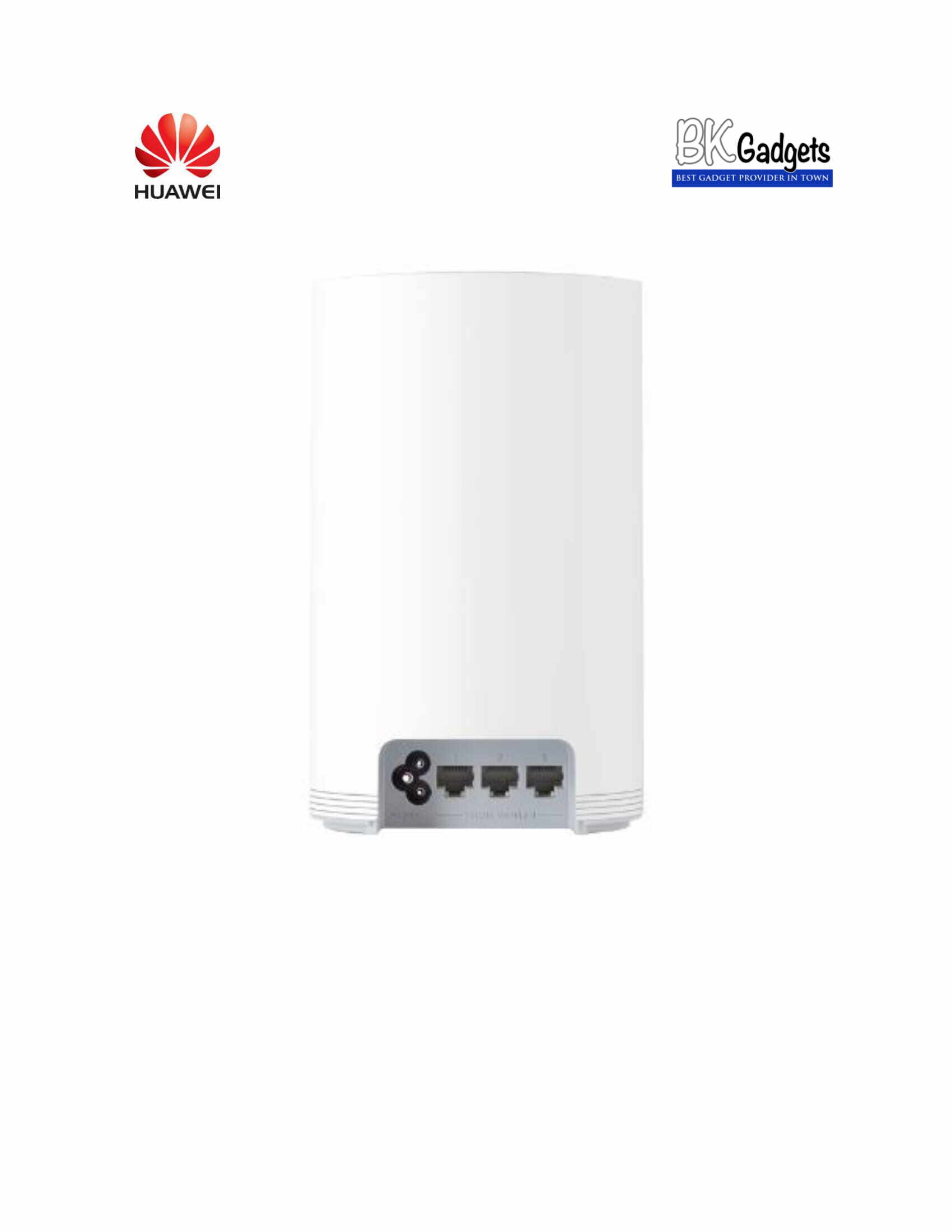 HUAWEI WIFI Q2 PRO AC 1200 WHOLE HOME WIFI Poweline Communication Hybrid Router System Stronger Extender [ White ]