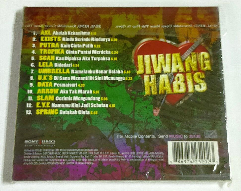 Jiwang Habis Lagu Rock Cinta Terhebat CD AXL Exists Putra Tropika Scan Lela Ukays Umbrella Data Arrow Slam E.Y.E Spring