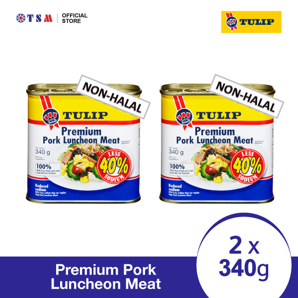 TULIP PREMIUM PORK LUNCHEON MEAT 340G X 2 CANS