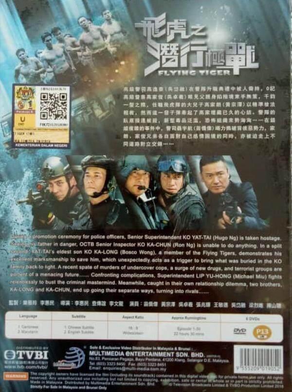 HK TVB Drama Flying Tiger 飛虎之潛行極戰 DVD