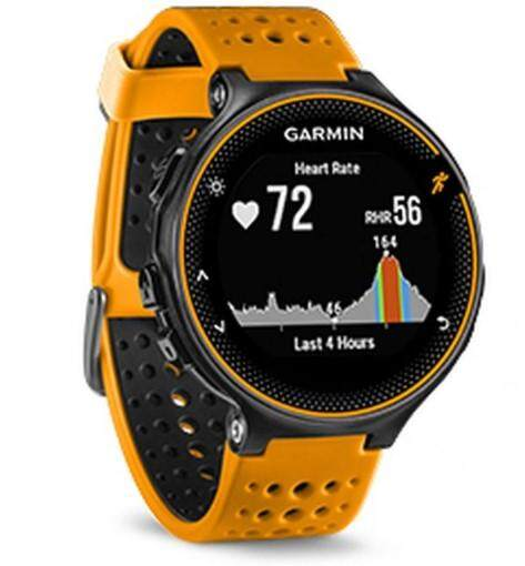Garmin Forerunner 235 GPS Running Sport Watch Smart Watch Activity Tracker with Wrist-based Heart Rate Monitor