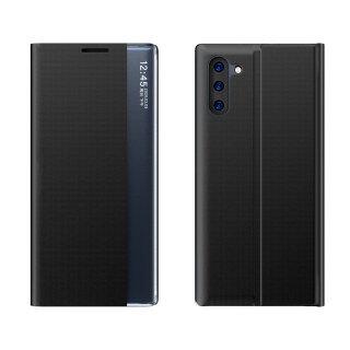 Dành Cho Samsung Galaxy Note 10 Plus N975 Dành Cho Galaxy Note 10 N970 BJONE Cửa Sổ Hiển Thị Bên Trong Ốp Lật Bằng Da PU thumbnail