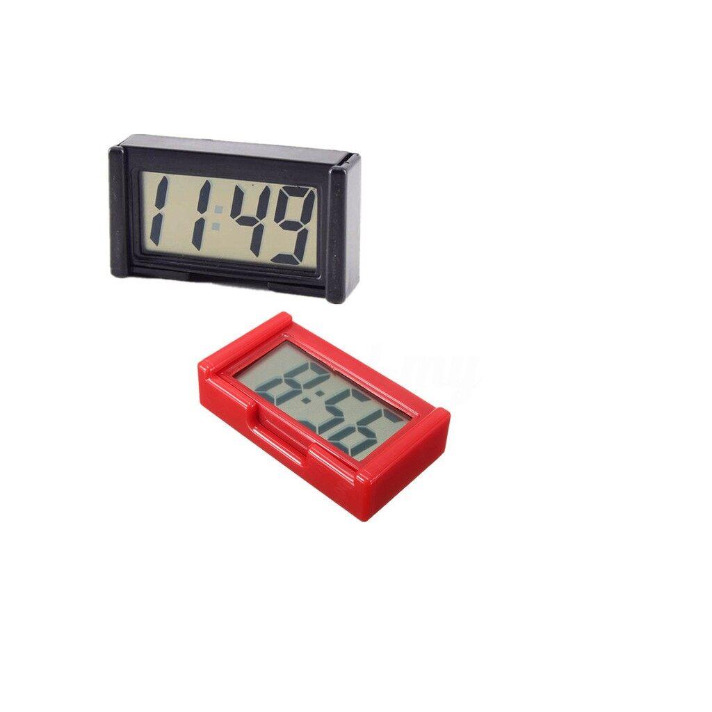 Car Multimedia Players - 57 x 32 x 11mm LCD Car Digital Car Clock_Ap - PURPLE / RED / SKY BLUE / BLACK
