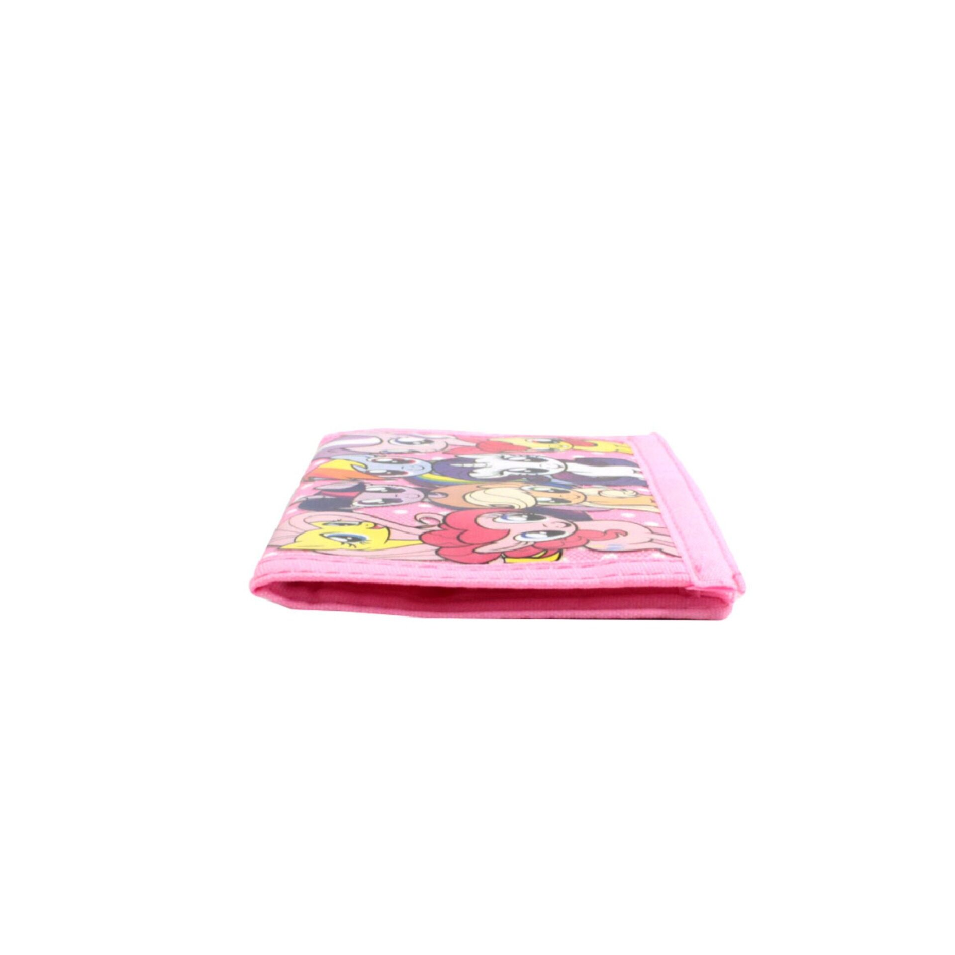 My Little Pony Ville 2 Fold Kids Girls Pink Wallet