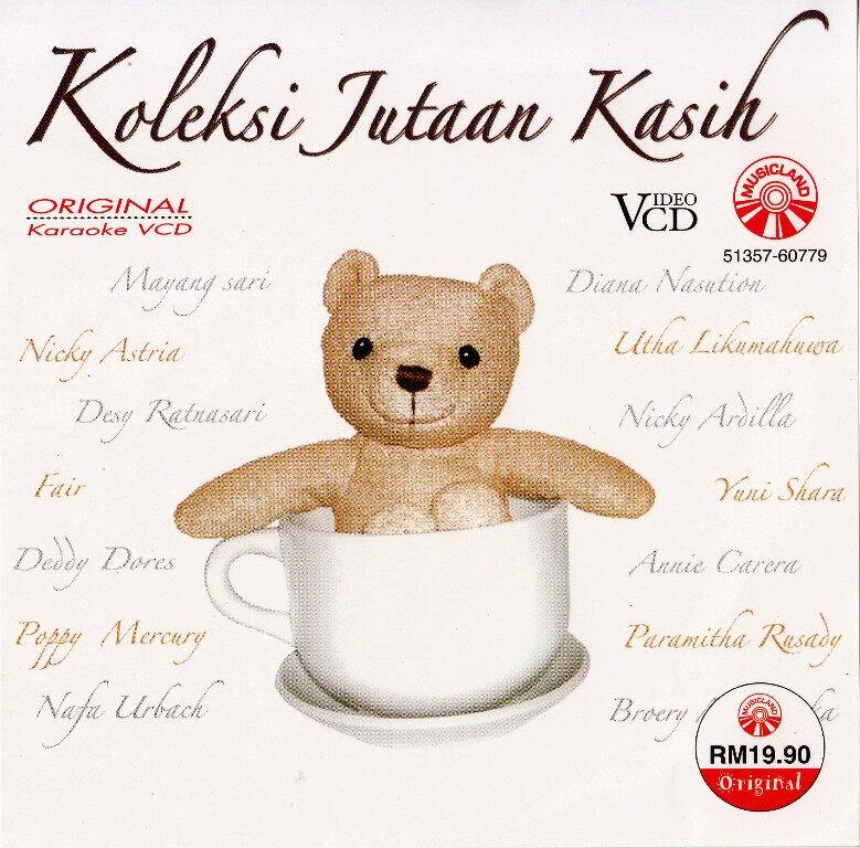 Koleksi Jutaan Kasih VCD Karaoke Mayang Sari / Diana Nasution / Nicky Astria / Utha Likumahuwa / Desy Ratnasari / Yuuni Shara