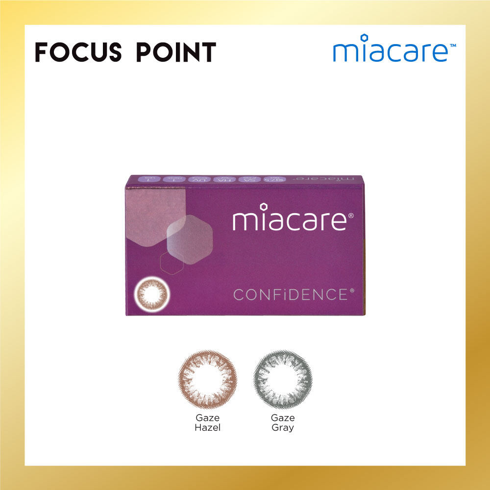 Miacare Confidence Chic Gaze Color Monthly (1 PC)