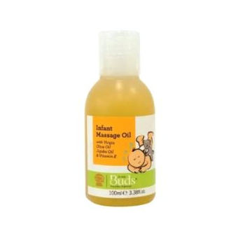Buds Everyday Organics Infant Massage Oil 100ml