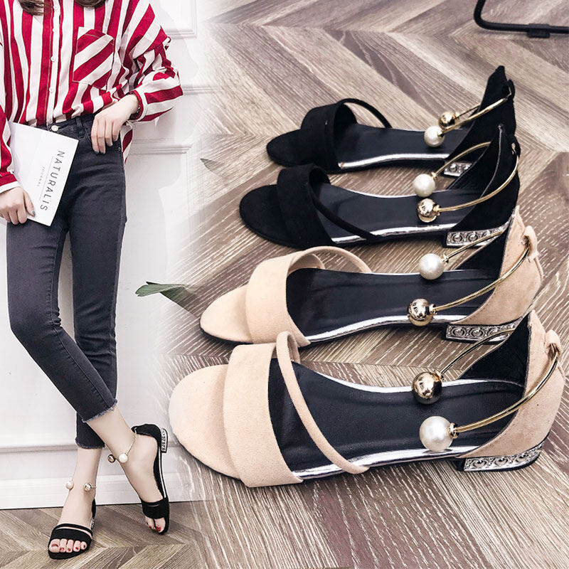 (PreOrder14Days )JYSFashionKoreanStyleWomen Sandal Collection 541 -9040 - EU:36