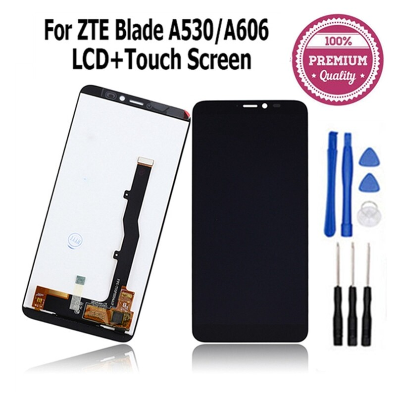 For 5.45 ZTE Blade A530 A606 LCD Display+Touch Screen Digitizer Assembly +Tools