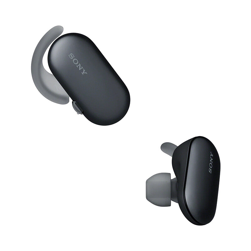 Sony Wireess Bluetooth Earset WF-SP900 with Bluetooth 4.0, Voice Assistant, 12 Hour Play Time, IPX5/8 Waterproof, IP6X Dustproof, 4 GB On-Board Storage, Ambient Sound mode, NFC, Headphone Connect App, Music Center App
