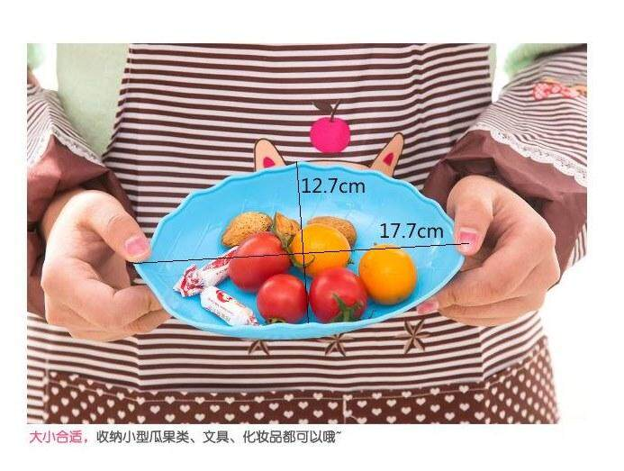 10 Pieces Fruit Plate Candy Dessert Cupcake Bowl Tray Serving Plate Party Cookies Sweets Snacks Nuts Fruit Party Plate