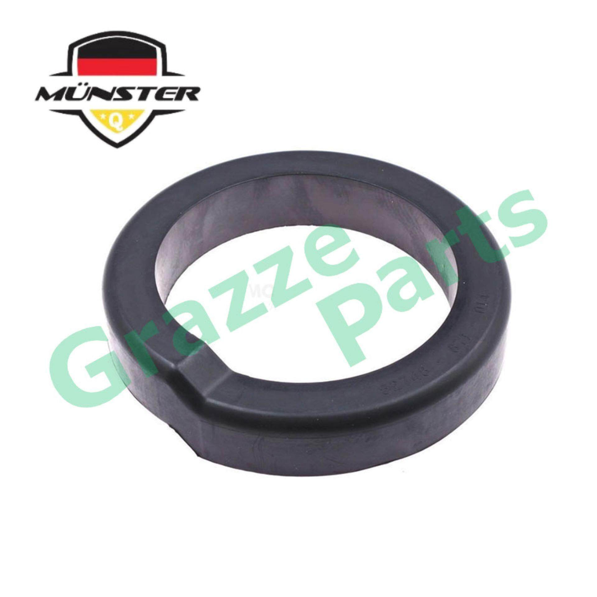Münster Präzision Technology Coil Spring Rubber Front Lower PW892765 for Proton Gen 2 Gen2 Persona Waja Wira 1.6 Satria 1.6 Satria NEO