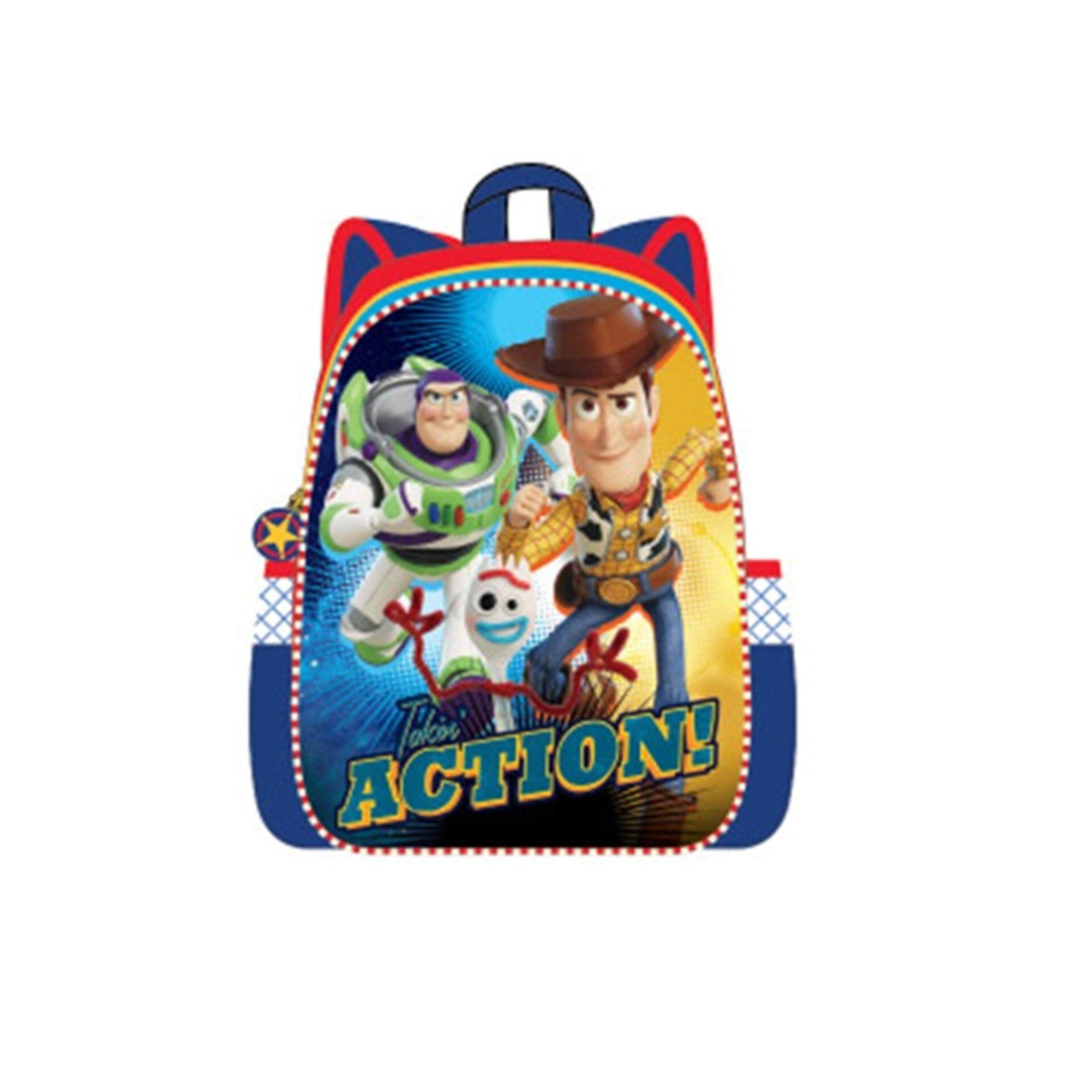 Disney Pixar Toy Story 4 Backpack School Bag 12 Inches - Multicolour