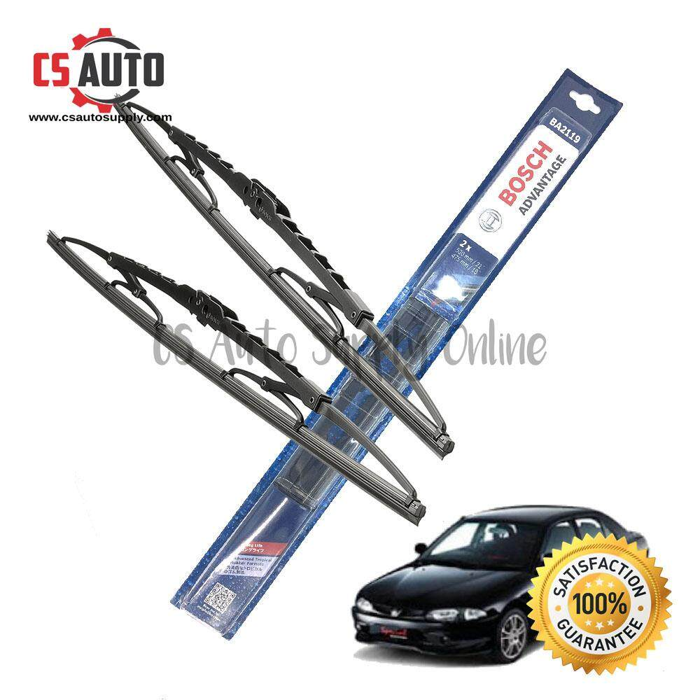 [cs auto] Bosch Wiper Blade Proton Wira Genuine 1set 17  20  ready stock