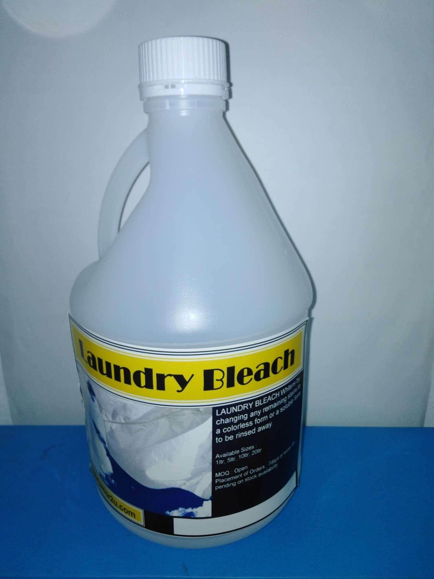 1pc of 2 liter Clorox laundry bleach