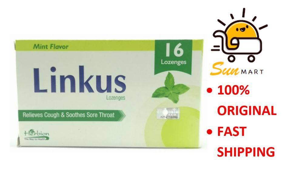 Linkus Lozenges Mint 16's