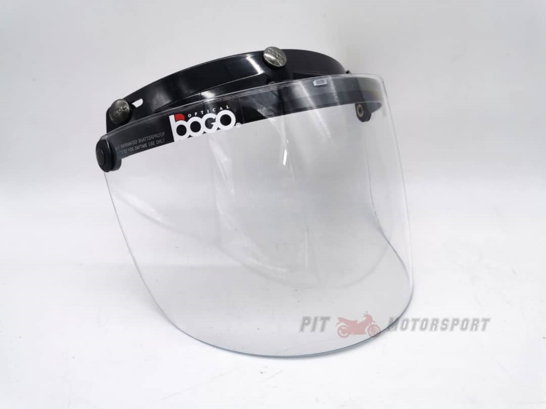 VISOR Helmet MHR III Half Cut Steng Separuh Visor Only 100% New / Helmet Accessories / Motor Accessories / Motor Spare Parts