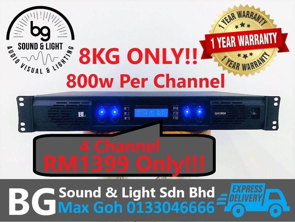 Blackline QA1600 4 Channel Light Power Amplifier(800w Per Channel)