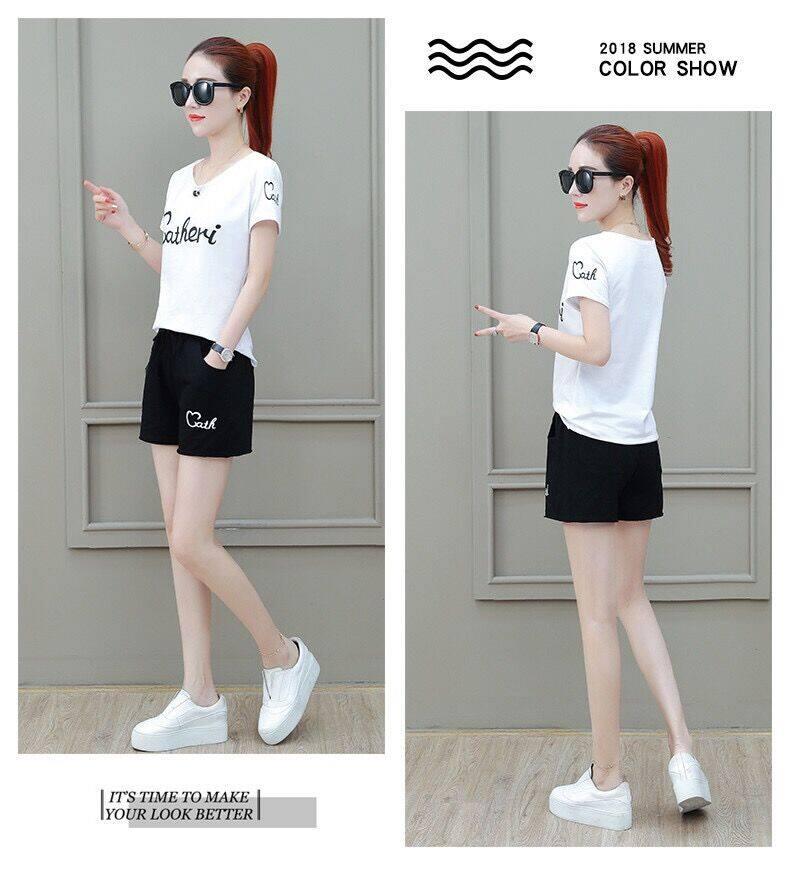 (Pre Order ETA 15/5) JYS Fashion Korean Style Women Sport Wear Set Collection 540 - 8008