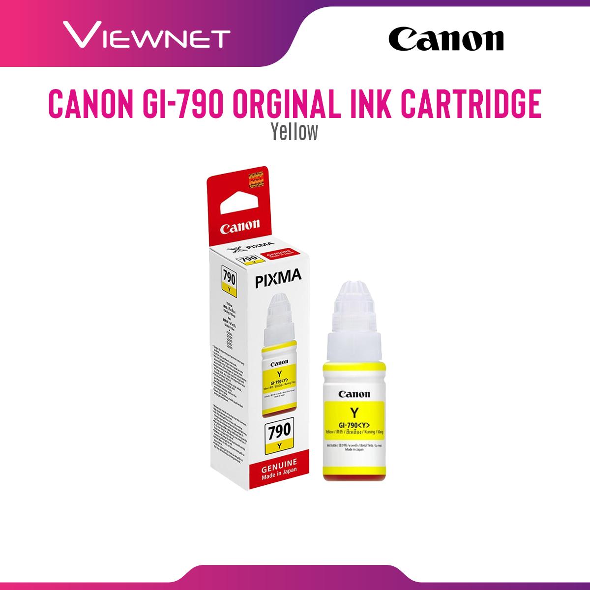 Canon Cartridge GI-790 Ink (Yellow)