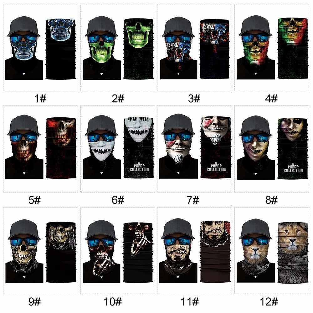Cool Robot Mask Scarf Joker Headband Balaclavas for Cycling Fishing Ski Motorcycle AC369 (6)