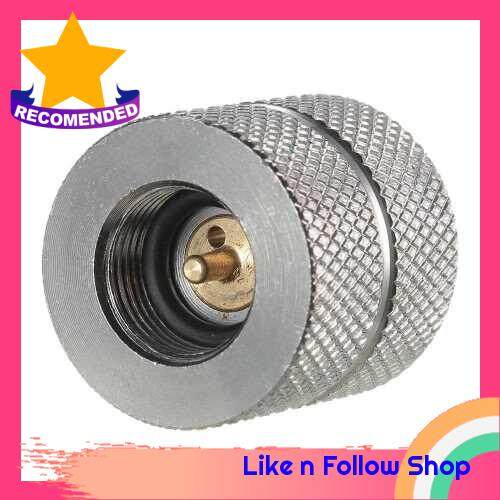 Cartridge Gas Refill Adapter Nozzle Bottle Type Butane Gas Cartridge / Canister Refill Gas for Screw Type Lindal Valve Canister