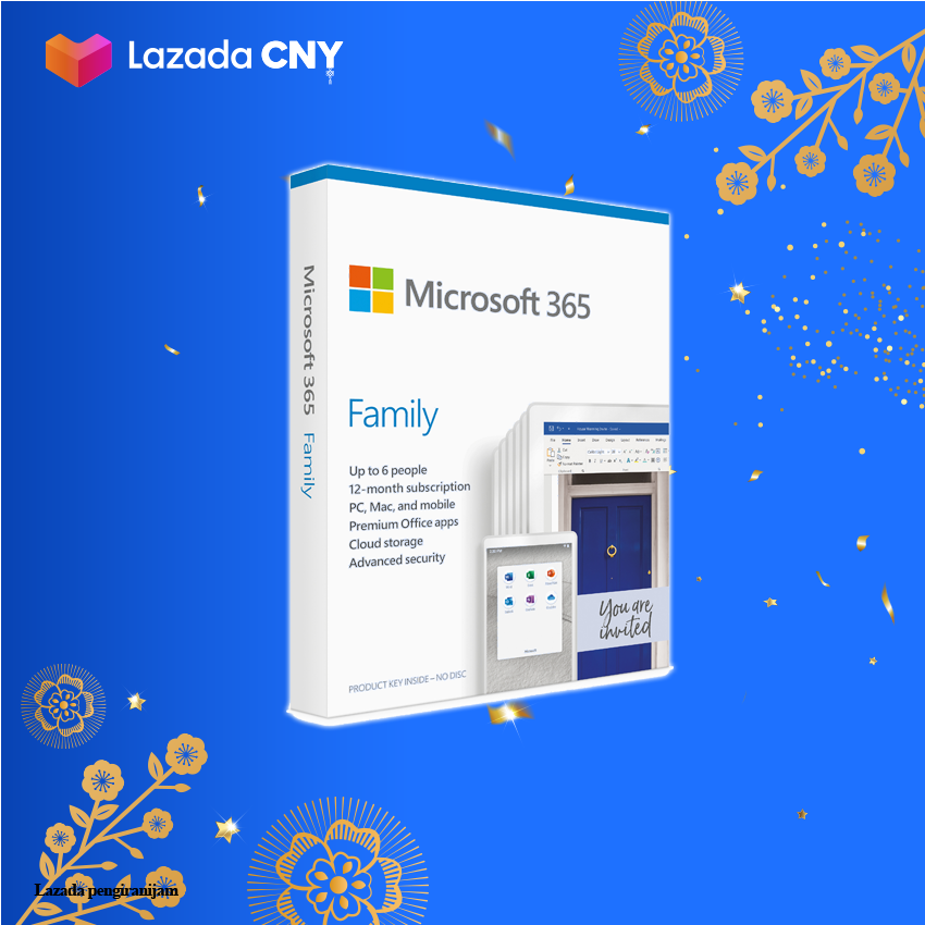 [PROMOTION] Official Dealer Microsoft 365 Family (ESD) - 6GQ-00083