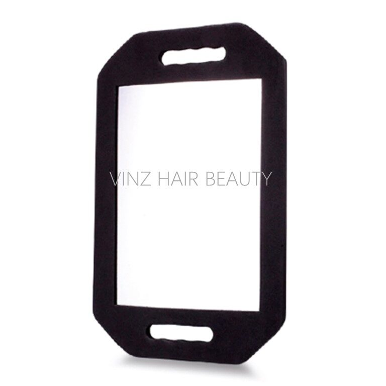 Shock Proof Hairdressing Rectangle Hand Mirror