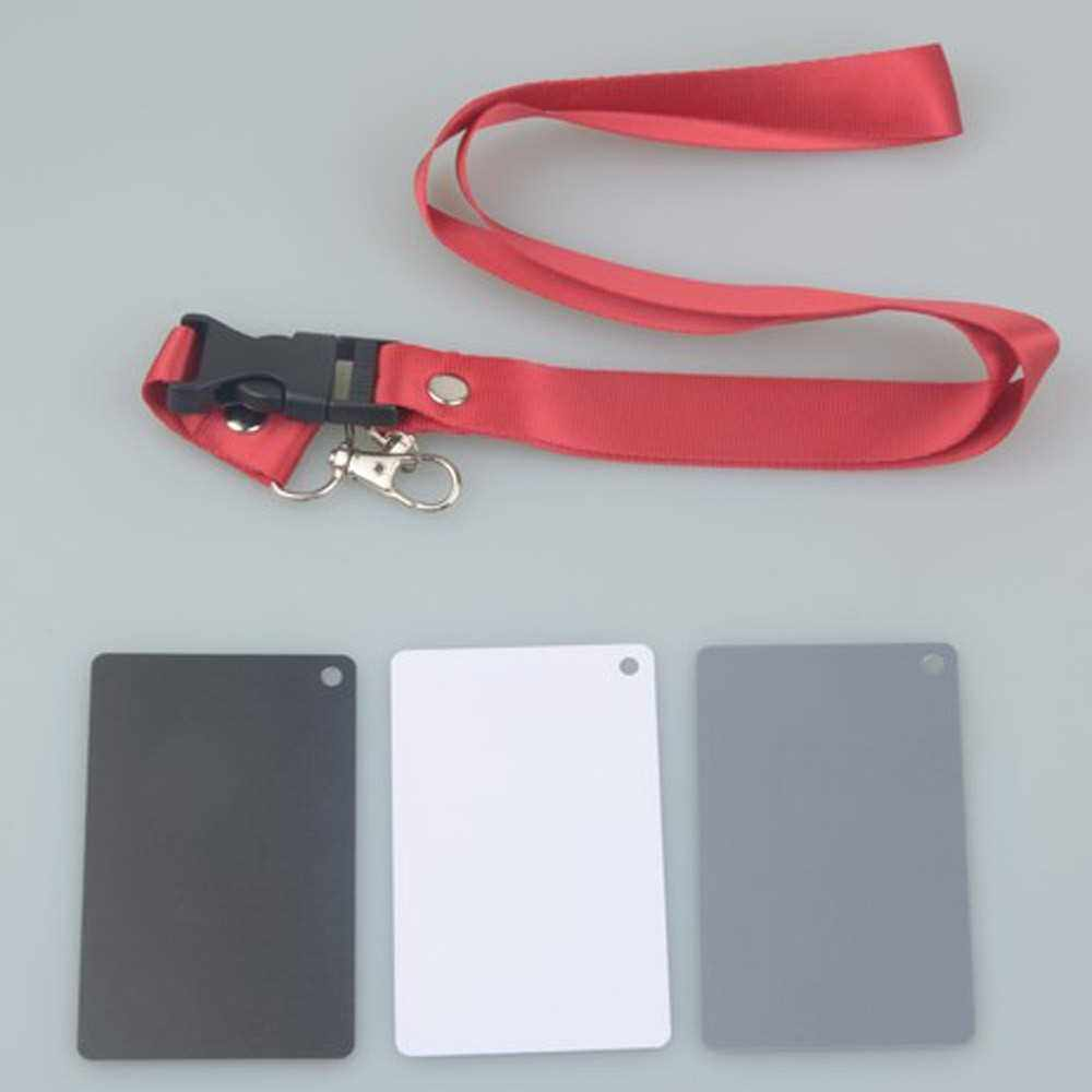 3 in 1 Pocket-Size Balance Cards for Digital Photography (Standard)