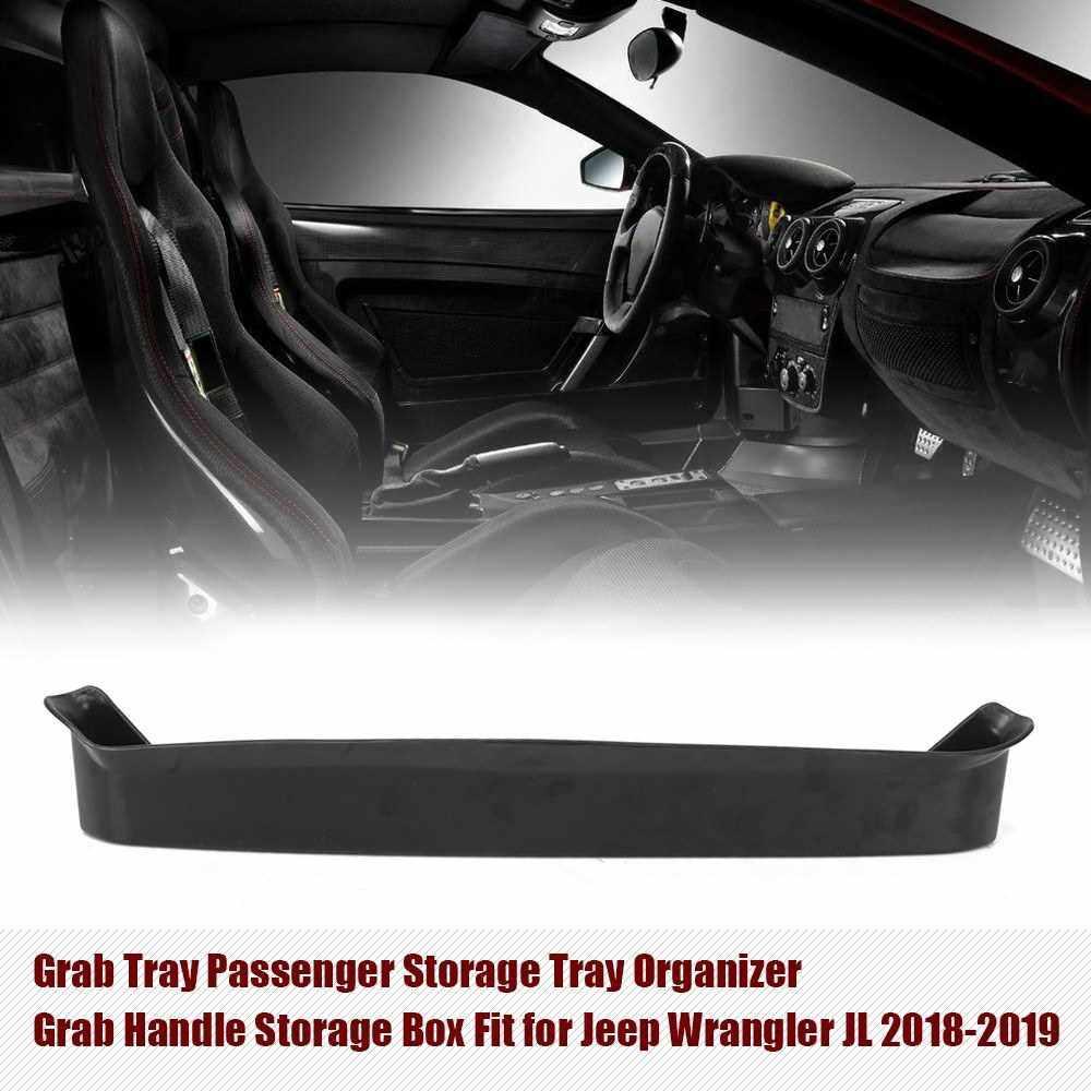 Best Selling Grab Tray Passenger Storage Tray Organizer Grab Handle Storage Box Fit for Jeep Wrangler JL 2018-2019 (Standard)