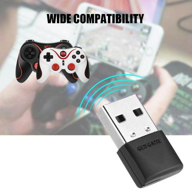 Wireless Bluetooth Receiver Adapter USB Dongle Adapter S3, S5, S6 GEN GAME